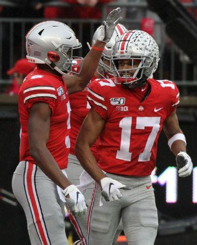 Osu Notes No Answer On Olave S Status For Penn State Game Sandusky Register Buckeyes Top Wide Receiver Took A Big Hit In Victory Over Nebraska